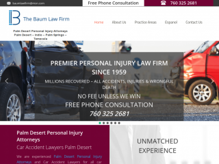 Auto Accident Lawyer Palm Desert CA